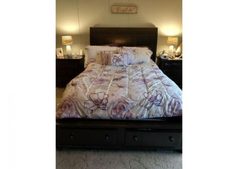 Broyhill Farnsworth Queen Size Sleigh Bed